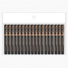 RUBRWMS001 тушь для бровей коричневый лайт туба-ручка 8 мл в ОРР (18 шт/ОРР 480/кор)