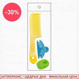 241 набор: расчёска/резинка/крабик (1 шт/уп)