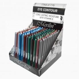 CP004 ШБ MIX ДЛЯ ГЛАЗ карандаш для глаз -автомат- 144 шт/уп (4320шт/кор) 11,5 см./0,3 гр