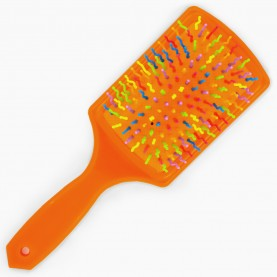 CMB502 расческа щетка широк прям 6 цвет зубцы-волна разноцвет 8586 24*8 см ОРР 83 гр. (6шт/уп кор/240шт)