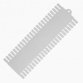 ПАЛИТРА ПОД ЛАК ПУСТАЯ прямая на 48 ногтей 28.5*10 см RST02 (10 шт/уп 300 шт/кор)