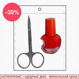 264 набор: ножницы/лак (1 шт/уп)