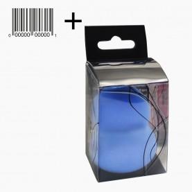 SPN20 со стик ШК спонж-бленд пика, купол. универсал для макияжа увеличивающ PROFF 5,5 см d- 4см. в ассорт В ПЛАСТ КОРОБОЧ 4,4*6,5 см 18гр.(12 шт/уп)
