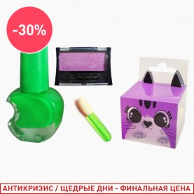 040 набор: лак/тени/апликатор (1 шт/уп)