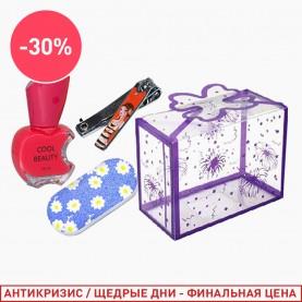 102 набор: пилка/лак/клиппер (1 шт/уп)