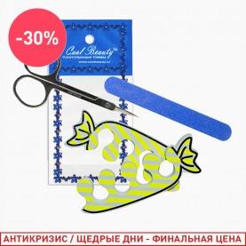 126 набор: разделитель/пилка/ножницы (1шт/уп)