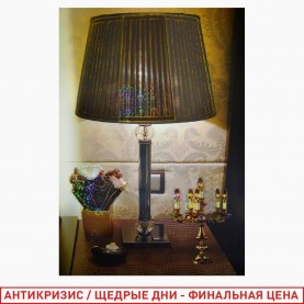 ROOM DECOR AF-9002 Комнатная напольная ЛАМПА+подсвечник 32*47 см (1шт/уп 500 шт/кор)