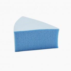 SPN31 спонж универсал нанесен и снятия макияжа треуголка цветной 4 см х 2 см (толщ) без ИУ 2 гр (20 шт/уп )