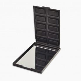 MIR17 зеркало прямоугольное кейс плитка ШОКОЛАДа 5,5*8,5 см (10 долек)в ОРР на кипине 29 гр.(12 шт/уп 720/кор)