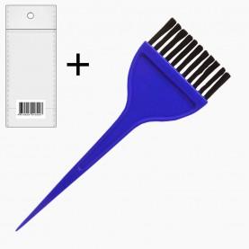кисть PHB04 OPP+шк кисть для окраски волос цветная 1294 д21,5*ш5,5 см (12шт/уп ZIP 18*25 -1200шт/кор)
