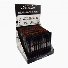 CP001 /016/ ШБ МИКС (3 тона) карандаш для глаз, автомат пластик с точилкой 12cm/0,2g. (144 шт)