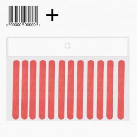 NF6010 ОРР 12 штук+ стикер шк пилка 2-х сторонняя абразивная БУМАЖНАЯ 9*1 см 1 гр. ( 12 шт/уп) цена за пачку 12 штук
