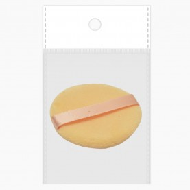 SPN01-3PF OPP10*14 + шк велюровая пуховка PROFI мягонькая с ручкой 5.5 см 1гр. (10шт/ ZIP15*20)