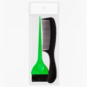 SHR302 ОРР+шк набор для волос головы 2 пр 40 гр. (расческа 403, кисть phb04) (12шт/уп)