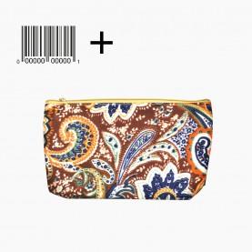 CB 06 mix ОРР+шк косметичка ткань разноцветная 11,5*18,5 20g (12шт/zip 25*35) (1200шт/кор)