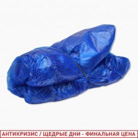 _BAH02 бахилы синий цвет толщина 100 мкр по 10 шт в ИУ ОРР10*16 цена за 1 уп (5 уп/zip 17*25)