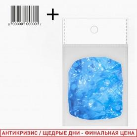 _SHC01 ОРР+стикер ш/к шапочка для душа 25,5 дм прозрачн цветные 25 гр. 1шт в OPP (6шт/уп ZIP 15*20)