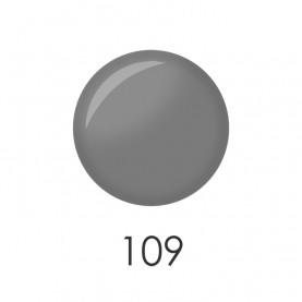 NP001_109 лак для ногтей 12 мл(серый матовый)12 шт/кор 480шт