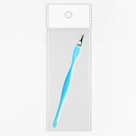 V003 OPP+стикер шк вилочка для кутикулы 11 см стик на конце 2 гр. (24шт/zip пакет 17*25 12000 шт/кор)