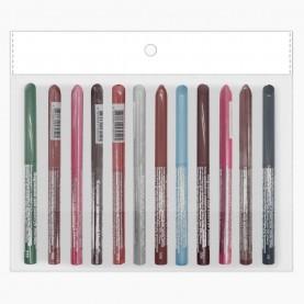 CP004 MIX карандаш для глаз -автомат- 12шт/уп (4320шт/кор) 11,5 см./ 0,3 гр