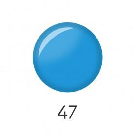 NP001 47 лак для ногтей 12 мл (матовый голубой) 12 шт/кор 480шт