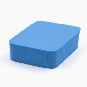 SPN11 спонж резин-софт, ромбы микс h-2 cm 5*7 см для макияжа и умывания 6гр. (50 шт/уп 4800/кор)