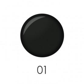 NP001 01 лак для ногтей 12 мл (черный) 12 шт/кор 480шт