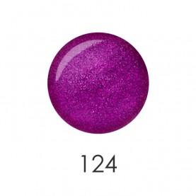 NP001_124 лак для ногтей 12 мл(искрящийся лиловый) 12 шт/кор 480шт