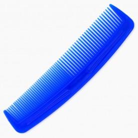 CMB001 расческа 1 мужская цветная классическая 12*3 см 6 гр.без ИУ (син,фиолет,желт,роз,зелен)(уп/30шт кор/4500)
