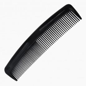CMB002 расческа 2 мужская классическая (черный цвет) 12*3 cm 5 гр. без ИУ (уп/30шт кор/4500шт)