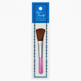 BR001 AV7*19 CB кисть для макияжа 12 см (12шт/zip пакет 15*20 960/кор) стикер со ш/к