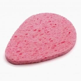 SPN28 губка для умывания и снятия макияжа пирамидальный овал 10 см*7см 3гр.(0,8 толщ) (50шт/уп)