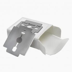 BLD01 д/педик инструмента сменное лезвие 10 лезвий в коробочке 2,5*3,2 см 7 гр.(10 шт/уп 2500/кор)