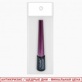 RUEL004 ЦВЕТНАЯ ЛАЙТ БРАУН ОРР-1 подводка колп фиолетовый 4 мл (12шт/уп кор/60шт)