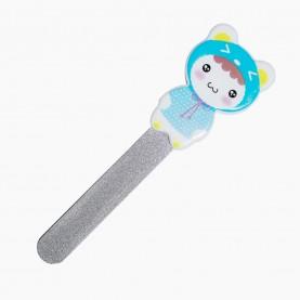 NFM017 пилка металлическая , разноцветные мишки - пластик 10 см на ленте (12шт/уп-2400шт/кор) 13 гр