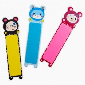 NB16 пилка полировка, пластиковая, разноцветные мишки, детки 19 гр. (12шт/уп-2400шт/кор) 13 см