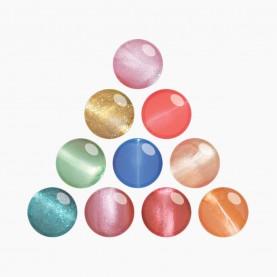 NP004_BX20 лак для ногтей треугольник(голуб.мат+перс.бл+зол+оран.бл+изумр+роз.яр+пурп+киви.бл+роз+роз.нежн)10 шт/уп 480шт/кор цена за штуку