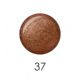 NP001 37 лак для ногтей 12 мл (искрящийся бронзовый) 12 шт/кор 480шт