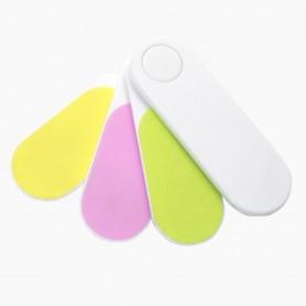 NB09 пилка для шлиф ногтей лесенка 6,8*2,3см (24 шт/уп 1800шт/кор)