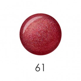 NP001 61 лак для ногтей 12 мл (блестящий красно-коричневый) 12 шт/кор 480шт