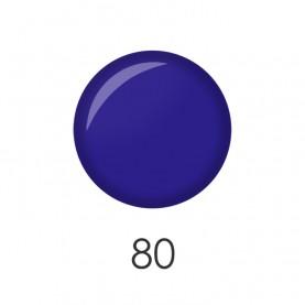 NP001 80 лак для ногтей 12 мл (темно синий матовый) 12 шт/кор 480шт