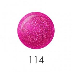 NP001_114 лак для ногтей 12 мл(искрящийся розовый неон) 12 шт/кор 480шт