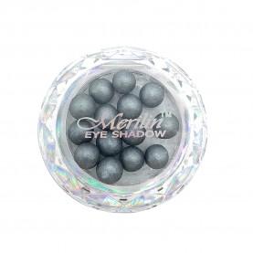 28 тени для век шарики цвет 05 серый с шиммером компакт Merilin 3-4 g (6 шт/уп )