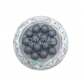 28 тени для век шарики цвет 06 темно-серый с шиммером компакт Merilin 3-4 g (6 шт/уп )