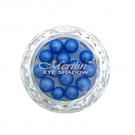 28 тени для век шарики цвет 12 небесно-голубой шиммер компакт Merilin 3-4 g (6 шт/уп )