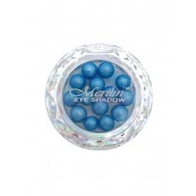 28 тени для век шарики цвет 13 светло-голубой шиммер компакт Merilin 3-4 g (6 шт/уп )
