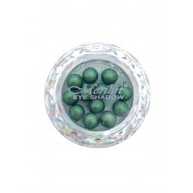 28 тени для век шарики цвет 15 малахит шиммер компакт Merilin 3-4 g (6 шт/уп )