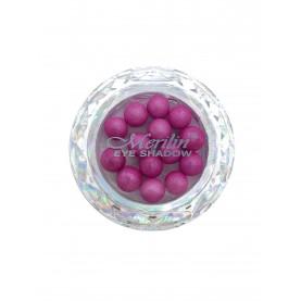28 тени для век шарики цвет 17 розовый с серебрянным шиммером компакт Merilin 3-4 g (6 шт/уп )