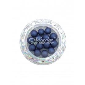 28 тени для век шарики цвет 19 грозовой фиолетовый с сиреневым шиммером компакт Merilin 3-4 g (6 шт/уп )