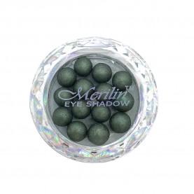 28 тени для век шарики цвет 25 болотн бронзант с золотым шиммером компакт Merilin 3-4 g (6 шт/уп )